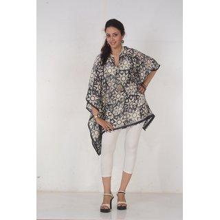 Women Beautiful Handloom Silk Kaftan