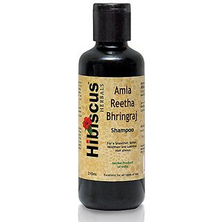 Herbal Shampoo Amla Reetha Bhringraj