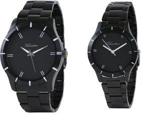 Timebre Royal Black Couple Analog Watch For Men