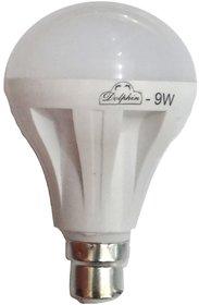 Dolphin LED Bulb 9 Watt 2 Pcs With 10 Months Warranty