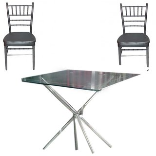 Seater Dining Table Set (Black)