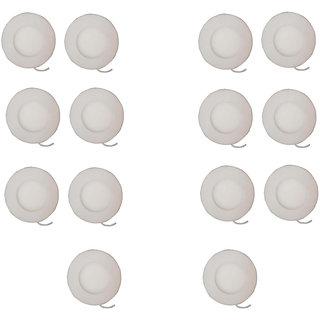Otexlite Slim panel light 3 watt round with 2 year warranty Pack of 14