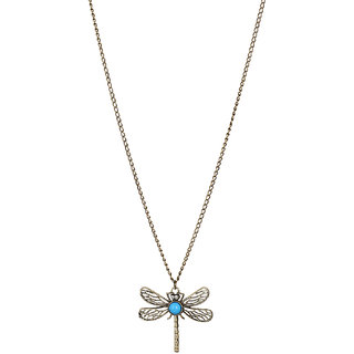 Fayon  Daily Casual Work Antique Butterfly Pendant Necklace