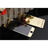 Galaxy Gold Tempered Glass Apple Iphone 6/6s Screen Protector Front + Back Mirror Screen Guard For Iphone 6, Iphone 6s