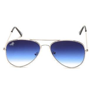Eddys Blue UV Protection Aviator Unisex Sunglasses
