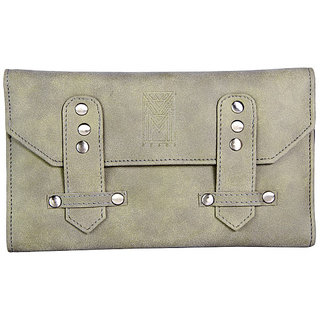 Dhama Olive Green Clutch Passport Wallet