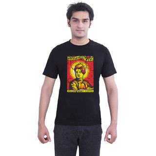 TantraSwami - TA Black Crew Neck T-Shirt for Men