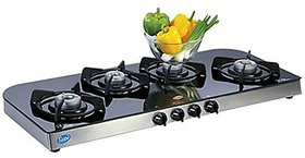 Glen GL-1049 GT 4 Burner Automatic Gas Cooktop