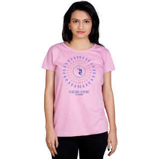 Tantra Buddha Trance - LT Multicolour Round Neck Longtees for Women