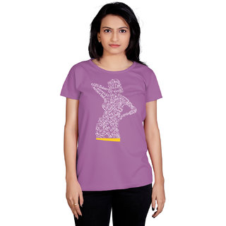 Tantra Typo Woman - LT Multicolour Round Neck Longtees for Women