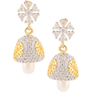 Archi Collection Designer Gold Plated Jhumki