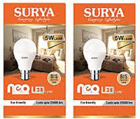 surya led 5w set of 3
