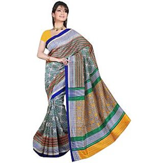 Lovely Look Multi Printed Saree LLKGPS5190