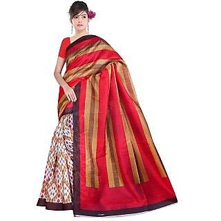 Lovely Look Multi Printed Saree LLKGPS5196
