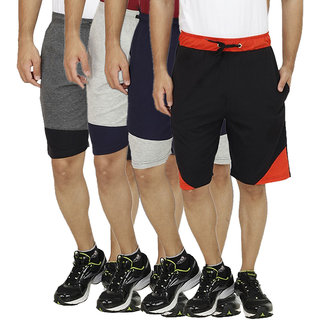 Christy Collections Solid Shorts Pack of 4