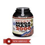 Weider Super Mega Mass 2000 6.6 Lbs Strawberry