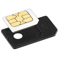 Gadget Hero's MICRO SIM Card Adapter To Regular SIM Converter IPHONE IPAD Blackberry Playbook Z10 Black
