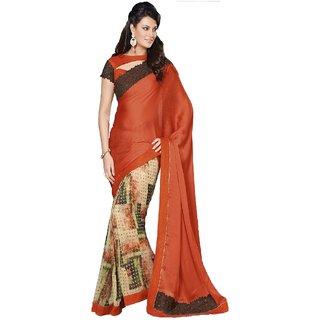 Ambica Designer printed saree