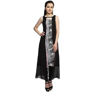 38ca53a04372 Buy Ladies Long Dress In Black Colour SKU CODE- MLDGB Online ...