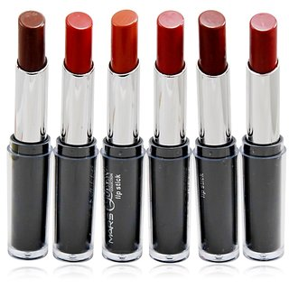 Mars Lipstick Queen Collection Pack of 6 Free Liner  Rubber Band-A4