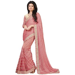 Ambica Latest Designer Work Saree