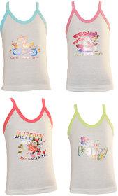 Lilsugar Girls Camisole With Pastel Neck