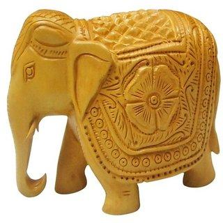 ShopOJ Wooden Flower Elephant