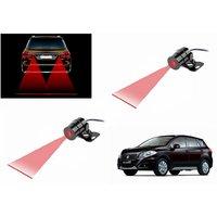 Spare-Rack Car Laser Fog Light Warning Light For Royal Bikes And Cars -Red