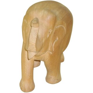 ShopOJ Wooden Plain Elephant