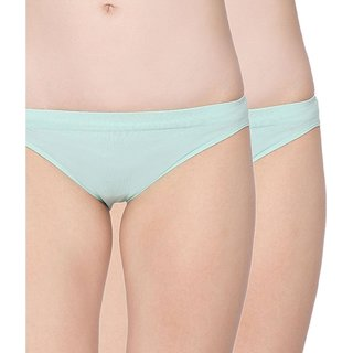 C9 Green Cotton Panties