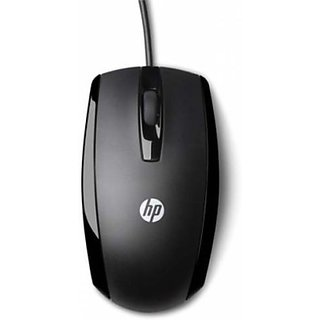 HP E5C12AA-ACJ Wired Optical Mouse (USB, Black)