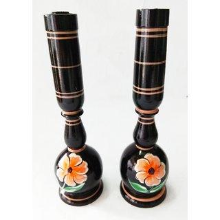 Royals Wooden Flower Vase Set