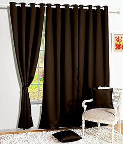 Angel Homes Store Set of 1  Door Curtains(4x7ft)