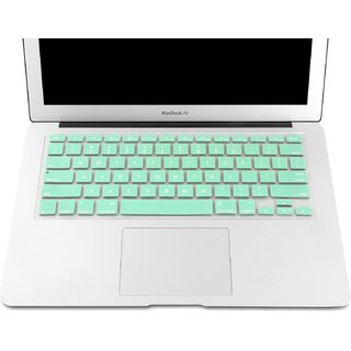 Heartly Premium Soft Silicone Keyboard Skin Crystal Guard Protector Cover For MacBook 13 / 15 / 17 inch  - Great Gree