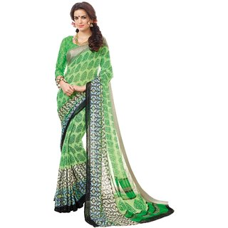 Latest Fashion Georgette Printed Branded Saree