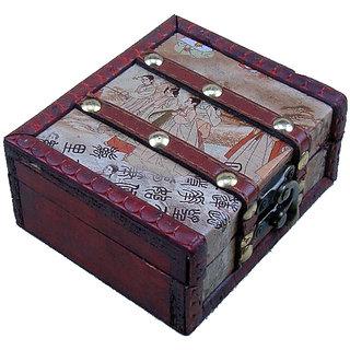 Tattoo Machine Wooden Box by mumbai tattoo