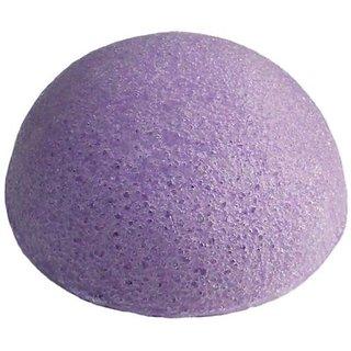 Organic Japanese Konjac Sponges - Purple