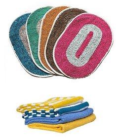 Iliv Combo - 3 Mats 3 Face Towels