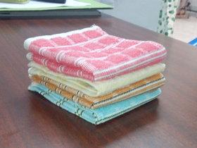 Bpitch Premium Face Towel - 4Pcs