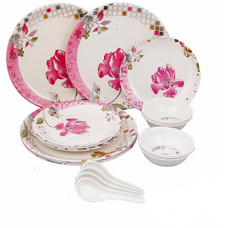 Attractive Collection Of 18 Pcs Dinner Set