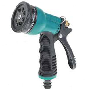 Car/Bike Washing Water Spray Gun 8 Pattern Brass Nozzle