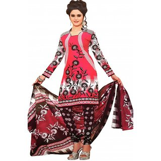 Printed Unstitched Salwar Suit Dupatta Material for women