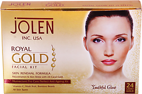 jolen royal gold facial kit