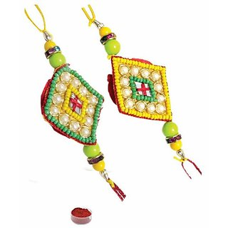 Astonishing Set of 2 Rakhi