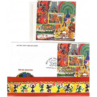 India Post Vibrant India Presentation Pack