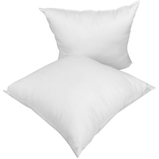 Just Linen Pair of Soft Poly Fibre Medium Size Cushion Fillers