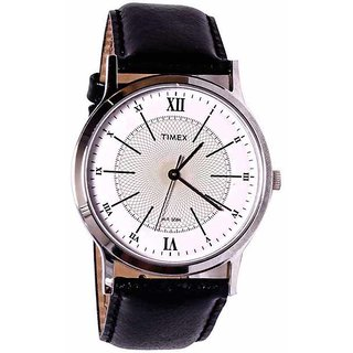 Timex Quartz White Round Men Watch ZR176