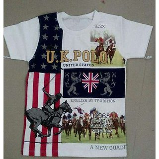 U.KPOLO T-shirts White Color