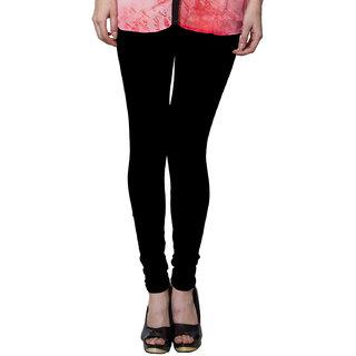 BOTH11 Black Cotton Lycra Legging