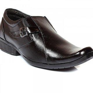 Woodchief Mens Black Formal Shoe WC-2061